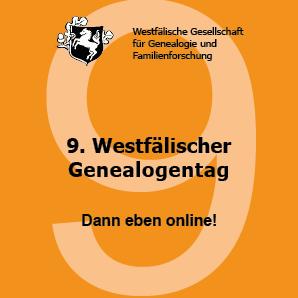 Logo des 9. Westfälischen Genealogentages